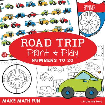 Number Game - Road Trip  {Numbers to 20}