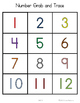 Number Grab and Trace