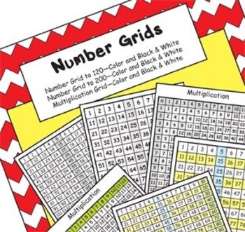 Number Grid Bundle