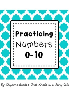 Number Handwriting Pages (0-10)