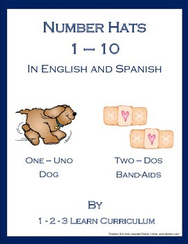 Number Hats 1 - 10