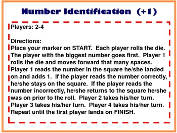 Number Identification +1