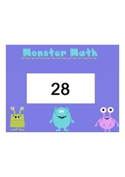 Number Identification (Monster Math)