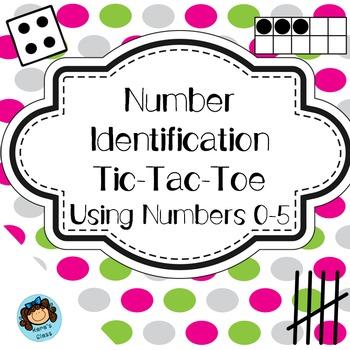 Number Identification Tic-Tac-Toe 0-5