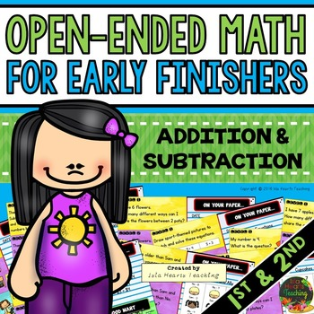 Early Finishers: Math Early Finishers Activities / Math Mo