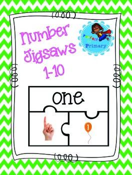 Number Jigsaws
