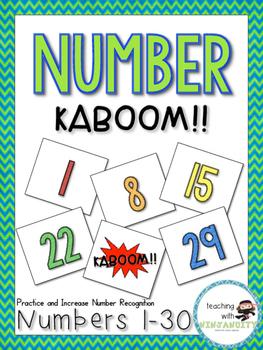 Number KABOOM!! Numbers 1-30