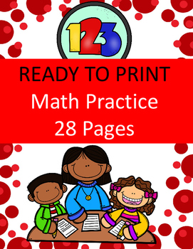 Number Knowledge Practice (Back to School Theme)