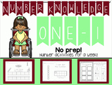 Number Knowledge: Number 1 (NO PREP!)