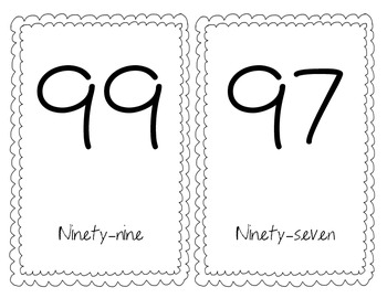 Number Line (Odd Numbers)