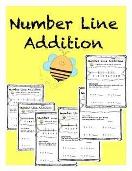Number Line Addition within 10