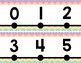 Number Line {Chevron Style}