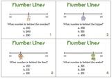 Number Line Estimation Task Cards