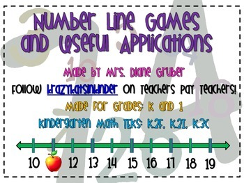 Number Line Games and Useful Applications