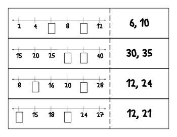 Number Line Match