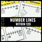 Number Line Number Sense within 120 - Flip and Go Cards