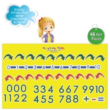 Number Line & Numbers 1-10 Felt Board Activity Set