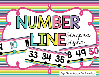 Number Line {Stripe Style}