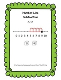 Number Line Subtraction 0 - 10  (K - 1)