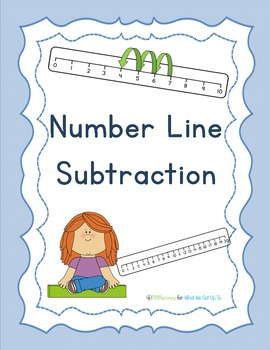 Number Line Subtraction Pack