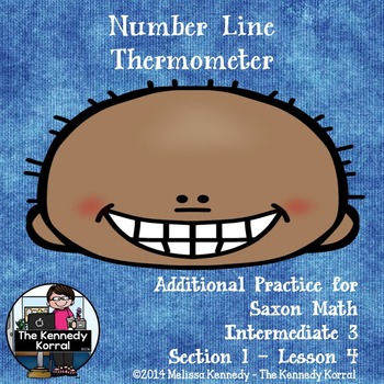Number Line, Thermometer {Read Number Lines, Read Thermome