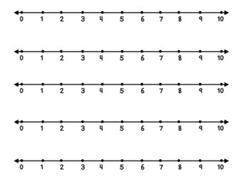 Number Lines 1-10 and 1-20