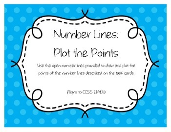 Number Lines - Plot the Points (2.MD.6)