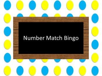Number Match Bingo