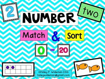 Number Match & Sort