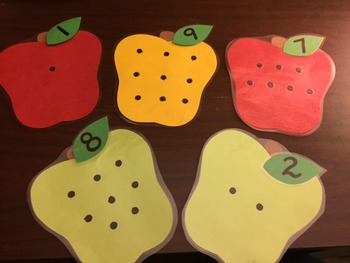 Number Matching Apple Game 0-10