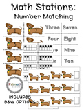 Math Stations: Number Match