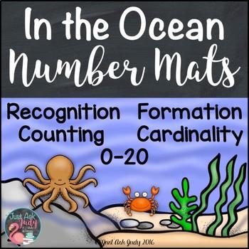 Number Mats 0-20 Ocean