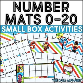 Number Mats 0-20: Small Box Activities