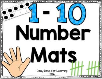 Number Mats: 1-10