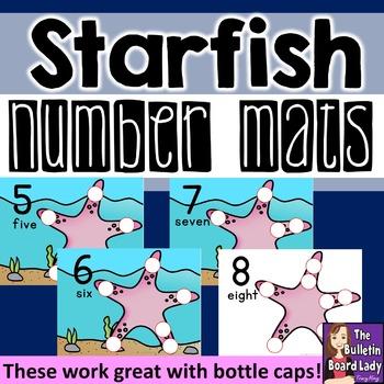Number Mats 1-10: Starfish