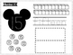 Number Mats 11-20 -- Mickey Mouse Cut & Paste Worksheets -