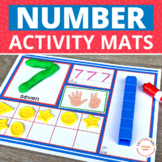 Number Activity Mats 1-20: Early Math Concepts for Prescho