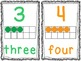 Number Mini Posters {1-20} With Tens Frames- Simple Scribb