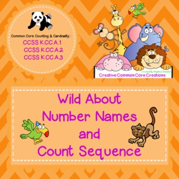 Counting: Number Names and Count Sequence NO PREP