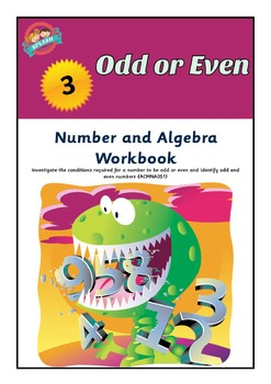 Number: Odd or Even Maths Workbook