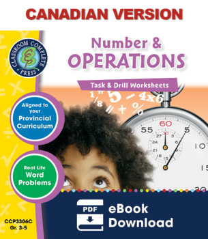 Number & Operations - Task & Drill Sheets Gr. 3-5 - Canadi