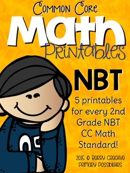Number & Operations in Base Ten Printables for Second Grade