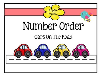Number Order ~ Cars On The Road