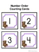 Number Order Counting Cards to 120