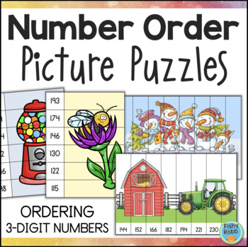Ordering Numbers Least to Greatest by Fishyrobb | Teachers Pay ...