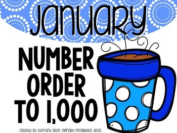 Number Order to 1,000 {January}
