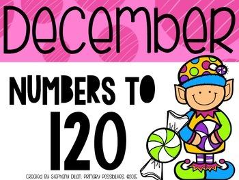 Number Order to 120 {December}