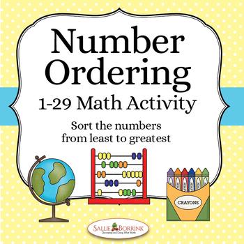 Number Ordering 1-29