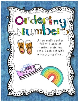 Number Ordering Math Center - Least to Greatest