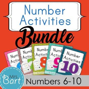 Number Pack Bundle {Packs 6-10}
